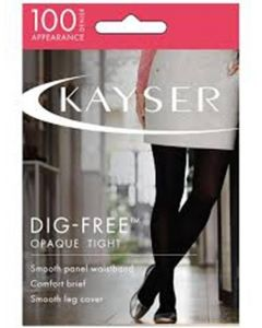 Kayser 100 Denier Dig-Free Opaque Tight