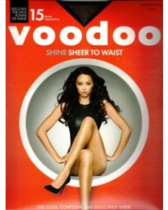 Voodoo Shine Sheer To Waist Pantyhose (Single Pack) Nightshade only