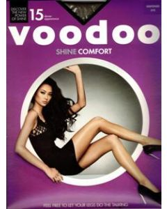 Voodoo Shine Comfort Brief Pantyhose (Single Pack) Nightshade only
