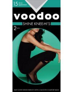 Voodoo Shine Knee Hi 2 pair pack