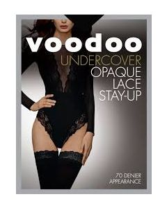 Voodoo Undercover Opaque Lace Stay-up