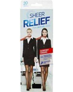 Sheer Relief Sheer Support Pantyhose