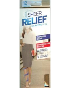 Sheer Relief 12 denier Slimming Support Pantyhose