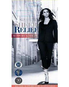 Kayser Sheer Relief 30 Denier Support Knee Hi