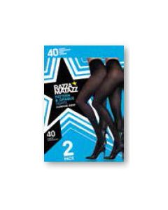 Razzamatazz Opaque Tight and Pattern Tight 2 pair pack