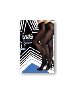 Razzamatazz Pattern Tights 2 pair pack