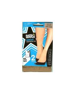Razzamatazz Curvaceous Anklet 2 pair pack