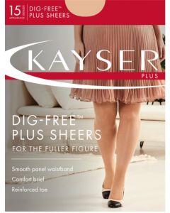 Kayser Dig-free Plus Sheers Pantyhose