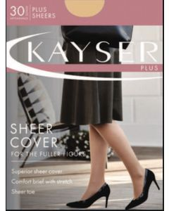 Kayser Plus Sheer Cover 30 denier pantyhose