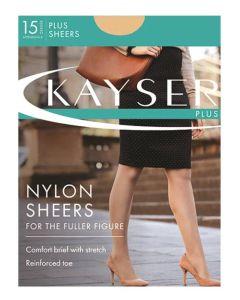 Kayser Plus Sheer Nylon Pantyhose