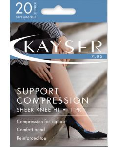 Kayser Plus Support Compression Knee Hi