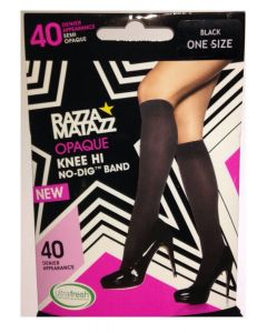 Razzamatazz 40 Denier Opaque Knee Hi