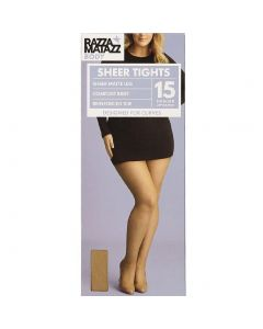 Razzamatazz Body Sheer Pantyhose for Curves