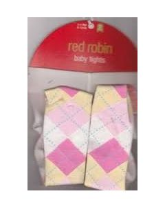 Red Robin Baby Tights