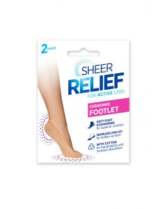 Sheer Relief Padded Sockette