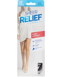 Sheer Relief Shine Support Pantyhose