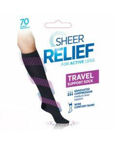 Sheer Relief Travel Sock