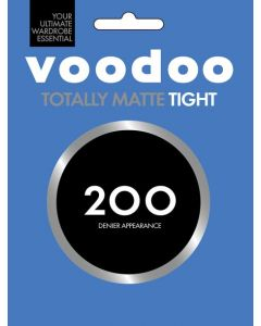 Voodoo 200 Denier Totally Matte Tight