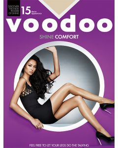 Voodoo Shine Comfort Brief Pantyhose (Single Pack)