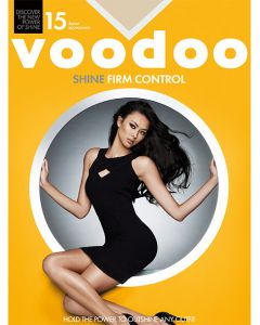 Voodoo Shine Firm Control Pantyhose with Reinforced Toe (Single Pack)