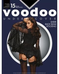 Voodoo Undercover Back-Seam Stocking