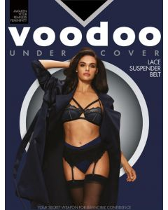 Voodoo Undercover Lace Suspender Belt